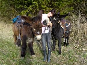Ich und meine Esel